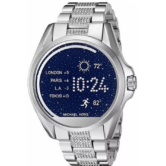 Michael Kors Accessories - Michael Kors Unisex Silver Smart Watch MKT5000